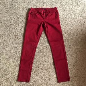 Lovesick red jeans